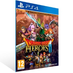Dragon Quest Heroes 2 Explorers Edition - Ps4 Psn Mídia Digital