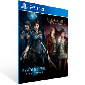 Resident Evil Revelations 1 & 2 Bundle - Ps4 Psn Mídia Digital