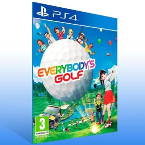 Everybodys Golf - Ps4 Psn Mídia Digital
