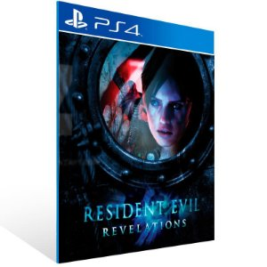Resident Evil Revelations - Ps4 Psn Mídia Digital