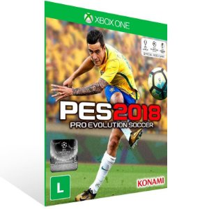 PES 18 - Xbox One Live Mídia Digital