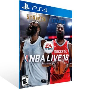 NBA LIVE 18 The One Edition - Ps4 Psn Mídia Digital