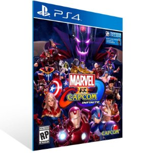 Marvel vs Capcom Infinite Standard Edition - Ps4 Psn Mídia Digital