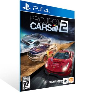 Project Cars 2 - Ps4 Psn Mídia Digital