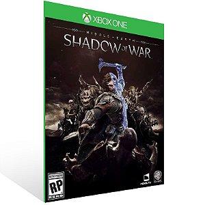 Middle Earth: Shadow of War - Xbox One Live Mídia Digital