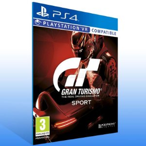 Gran Turismo Sport - Ps4 Psn Mídia Digital