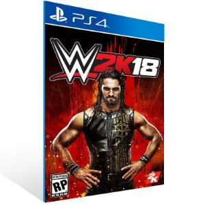 WWE 2K18 - Ps4 Psn Mídia Digital