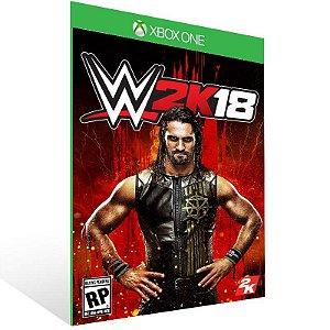 WWE 2K18 - Xbox One Live Mídia Digital