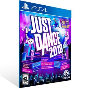 Just Dance 2018 - Ps4 Psn Mídia Digital