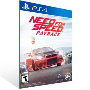 Need for Speed Payback Standard Edition - Ps4 Psn Mídia Digital