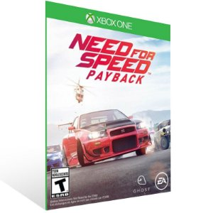 Need for Speed: Payback - Xbox One Live Mídia Digital