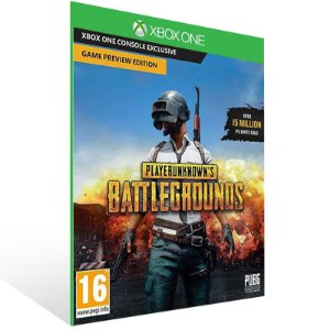 Playerunknowns Battlegrounds - Xbox One Live Mídia Digital