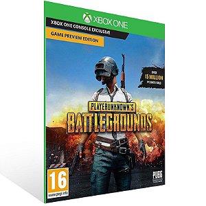 PLAYERUNKNOWNS BATTLEGROUNDS - Xbox One Live Mídia Digital