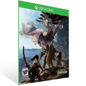 Monster Hunter World - Xbox One Live Mídia Digital