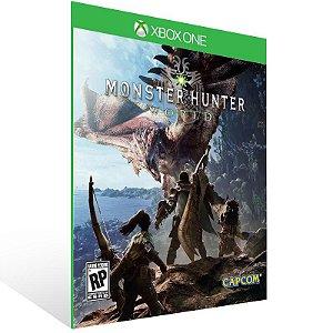 Monster Hunter World - Xbox One Live Mídia Digital