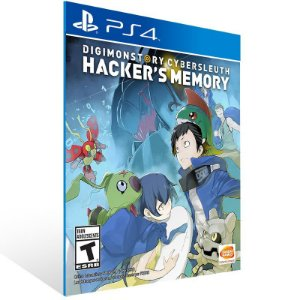 Digimon Story Cyber Sleuth Hackers Memory - Ps4 Psn Mídia Digital