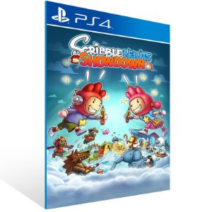 Scribblenauts Showdown - Ps4 Psn Mídia Digital