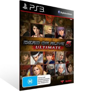 Dead Or Alive 5 Ultimate - Ps3 Psn Midia Digital