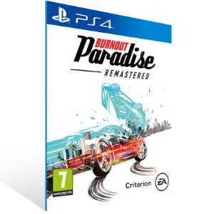 Burnout Paradise Remastered - Ps4 Psn Mídia Digital
