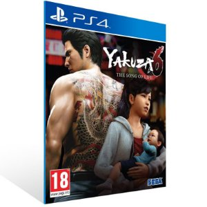Yakuza 6 The Song of Life - Ps4 Psn Mídia Digital