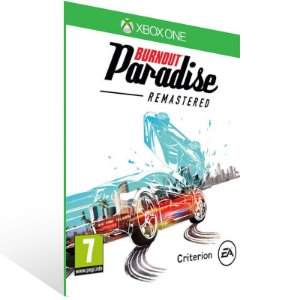 Burnout Paradise Remastered - Xbox One Live Mídia Digital