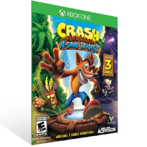 Crash Bandicoot N. Sane Trilogy - Xbox One Live Mídia Digital
