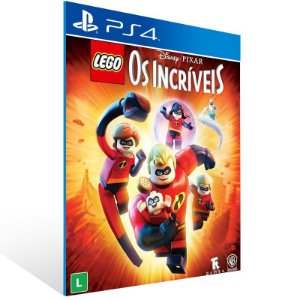 LEGO Os Incríveis - Ps4 Psn Mídia Digital