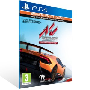 Assetto Corsa Ultimate Edition - Ps4 Psn Mídia Digital