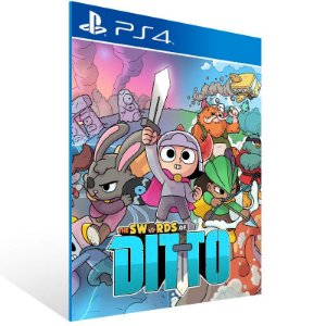The Swords of Ditto - Ps4 Psn Mídia Digital