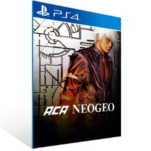 ACA NEOGEO THE KING OF FIGHTERS 94,95,96,97,98 - Ps4 Psn Mídia Digital