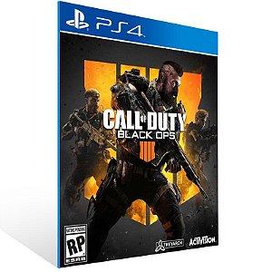 Call of Duty Black Ops 4 COD BO4 - Ps4 Psn Mídia Digital