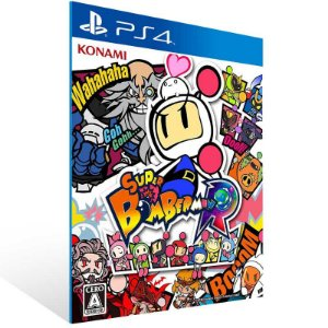 Super Bomberman R - Ps4 Psn Mídia Digital