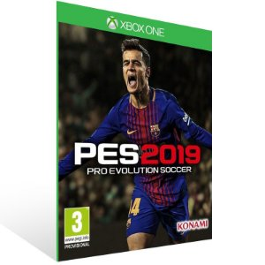 Pes 19 - Xbox One Live Mídia Digital