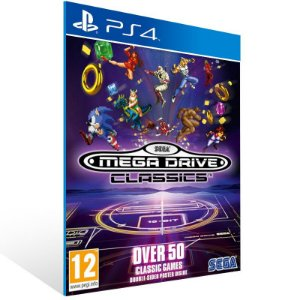 SEGA Genesis Classics - Ps4 Psn Mídia Digital