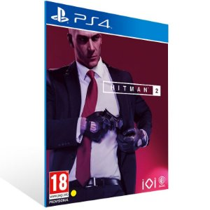 Hitman 2 - Ps4 Psn Mídia Digital