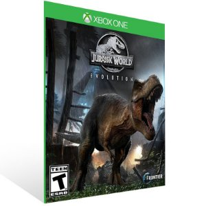 Jurassic World Evolution - Xbox One Live Mídia Digital