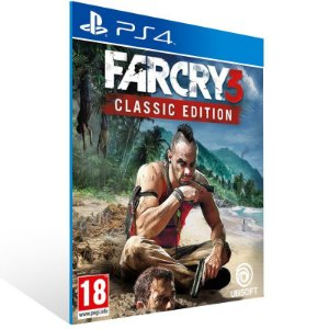 Far Cry 3 Classic Edition - Ps4 Psn Mídia Digital