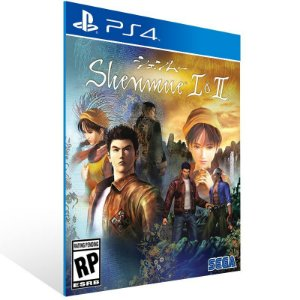 Shenmue I & II - Ps4 Psn Mídia Digital