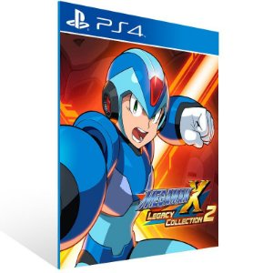 Mega Man X Legacy Collection 2 - Ps4 Psn Mídia Digital