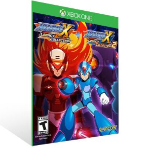 Mega Man X Legacy Collection 1+2 - Xbox One Live Mídia Digital