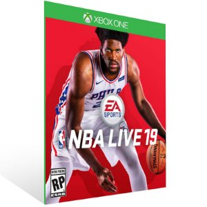 NBA LIVE 19 The One Edition - Xbox One Live Mídia Digital