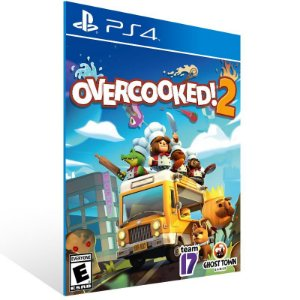 Overcooked 2 - Ps4 Psn Mídia Digital