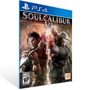 Soulcalibur VI - Ps4 Psn Mídia Digital