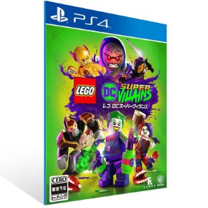 LEGO DC Super Villains - Ps4 Psn Mídia Digital