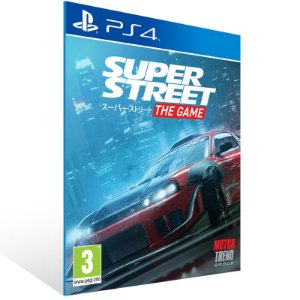 Super Street The Game - Ps4 Psn Mídia Digital