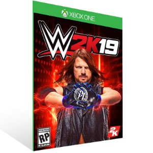 WWE 2K19 - Xbox One Live Mídia Digital