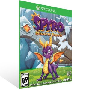 Spyro Reignited Trilogy - Xbox One Live Mídia Digital
