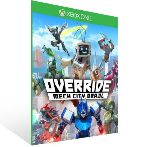 Override Mech City Brawl - Xbox One Live Mídia Digital