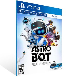 ASTRO BOT Rescue Mission - Ps4 Psn Mídia Digital