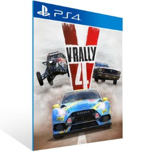 V-Rally 4 - Ps4 Psn Mídia Digital